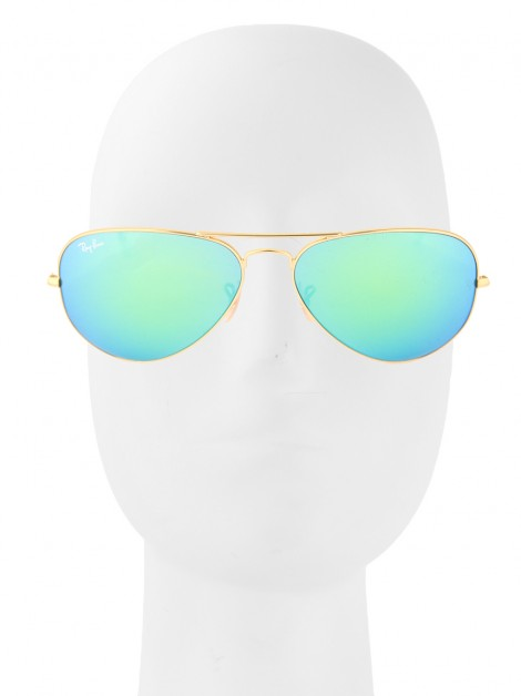 Óculos Ray-Ban RB3025 Aviador Large Verde