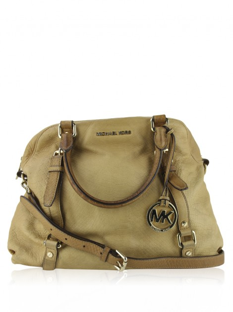 Bolsa Michael Kors Bedford Satchel Embossed