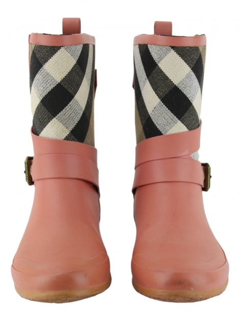 Bota Burberry Holloway Rosa