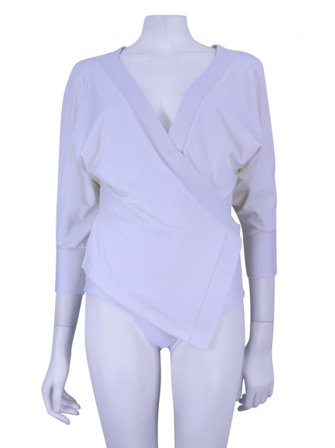 Body Lenny Niemeyer Transpassado Off White