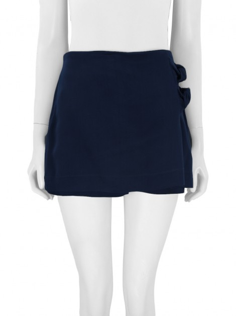 Shorts Saia Mixed Azul