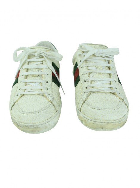 Tênis Gucci Grainy Off-White Masculino