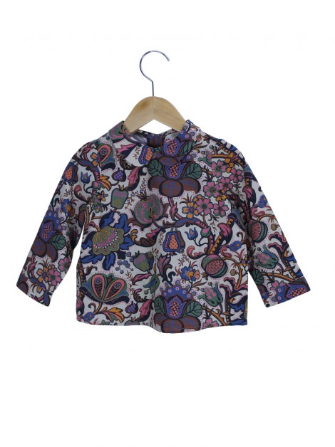 Blusa Bonpoint Ampla Estampado Toddler