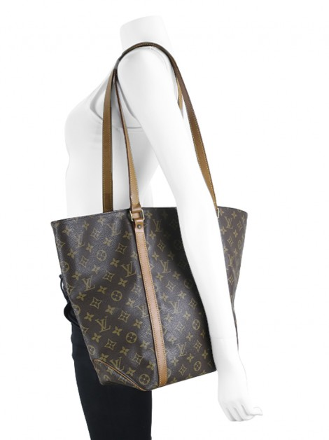 Bolsa Louis Vuitton Sac Shopping Tote Monograma