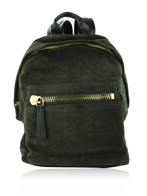 Mochila Tom Ford Buckle Oliva