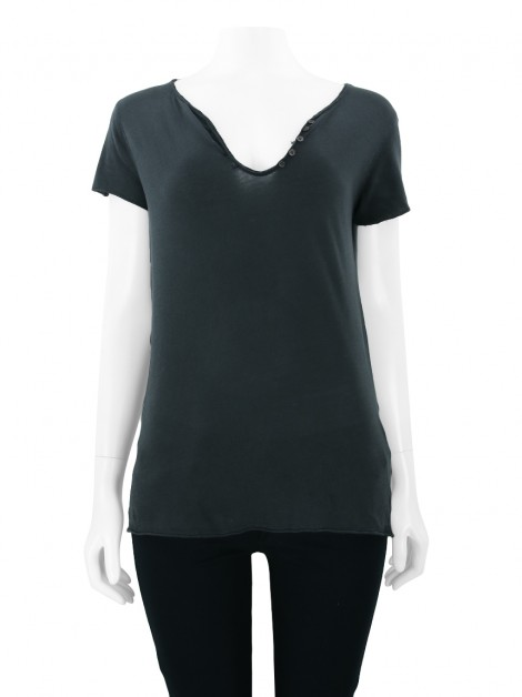 Blusa Zadig & Voltaire Muse Chumbo
