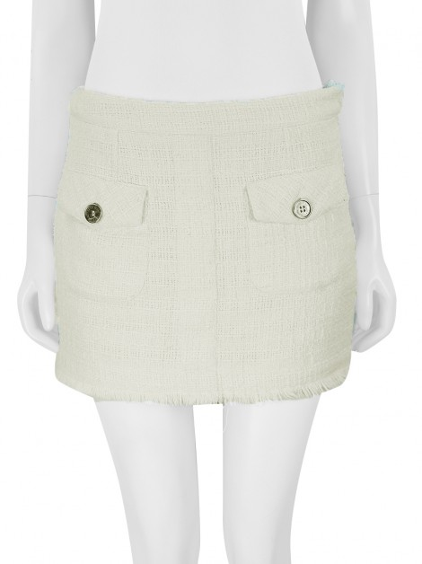 Saia Le Lis Blanc Tweed Off-White