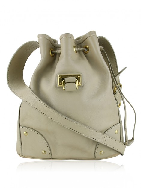 Bolsa Marc By Marc Jacobs Lady Drawstring Bege