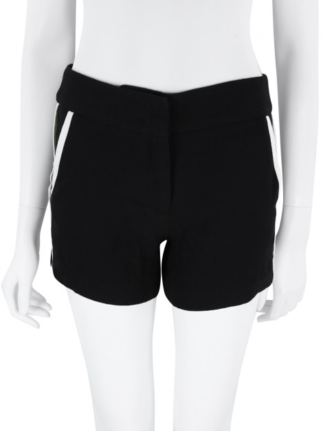 Shorts Animale Alfaiataria Preto e Branco