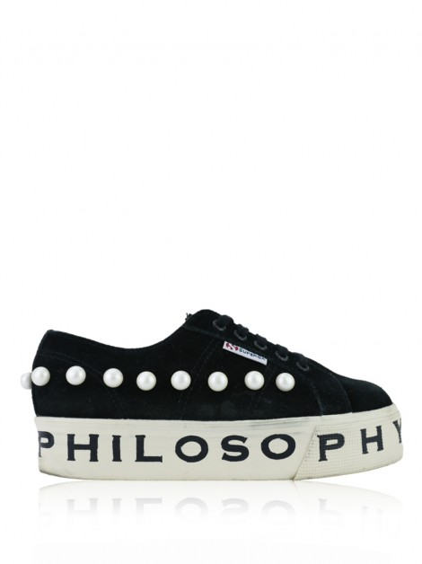 Tênis Philosophy Superga x Philosophy Suede Pearl