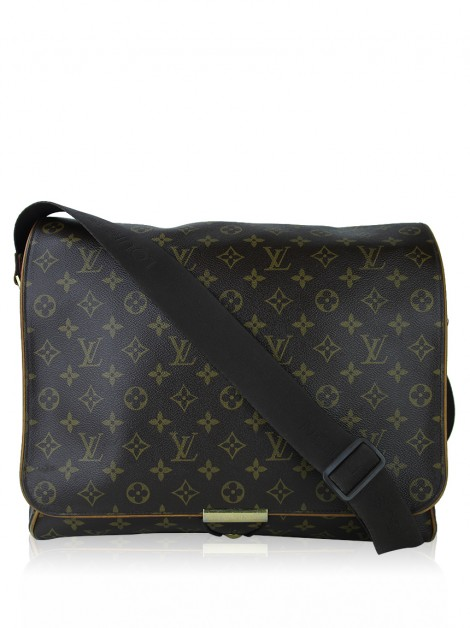 Bolsa Louis Vuitton Abbesses Messenger Monograma
