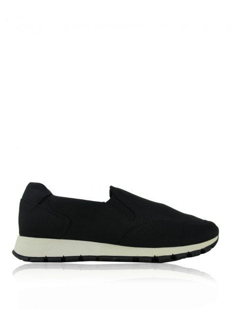 Tênis Prada Slip On Nylon Preto