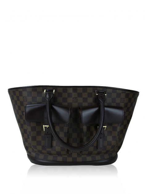 Bolsa Louis Vuitton Manosque Damier Ebene