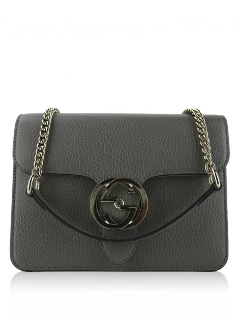 Bolsa Gucci Dollar Calfskin Interlocking G