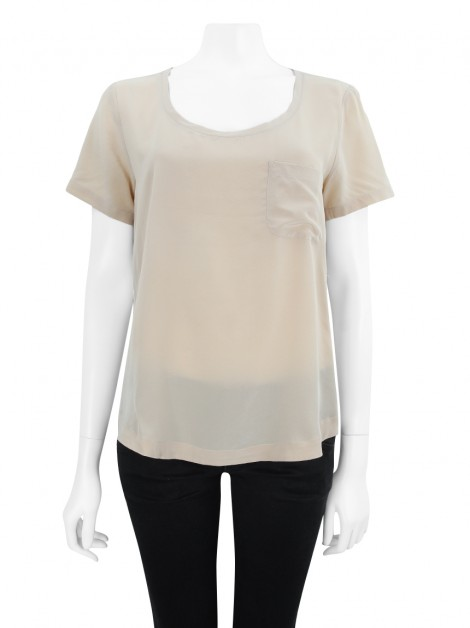 Blusa Animale Seda Rose
