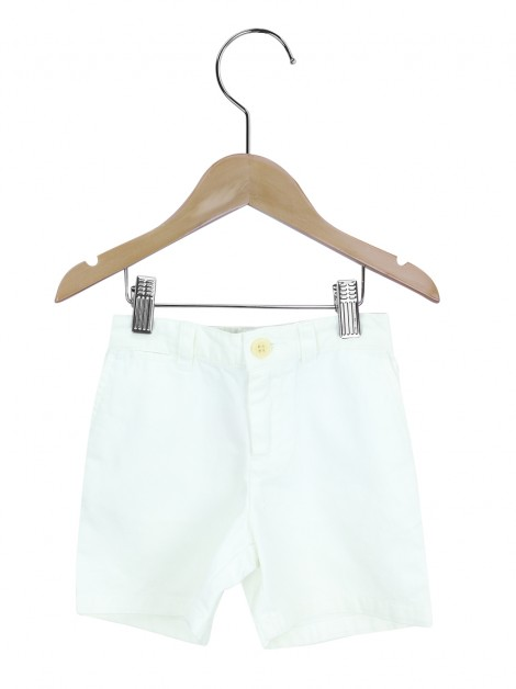 Shorts Polo Ralph Lauren Branco Infantil