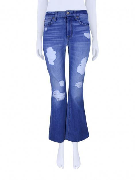 Calça Seven For All Mankind High Waist Vintage Bootcut Jeans