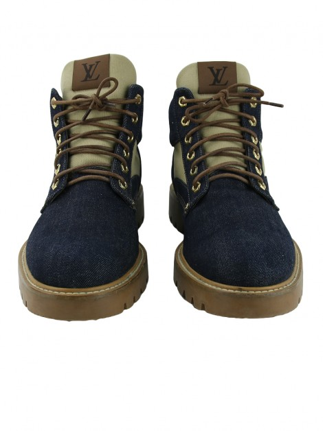 Bota Louis Vuitton Oberkampf Denim