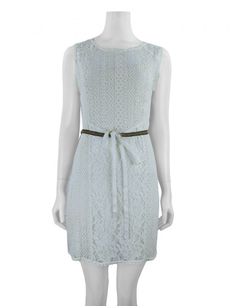 Vestido Bobstore Renda Off White