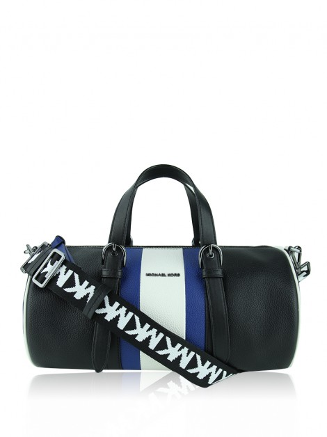 Bolsa Michael Kors Stanton Striped Pebbled