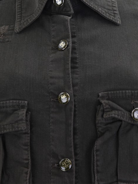 Jaqueta A. Brand Jeans Patches