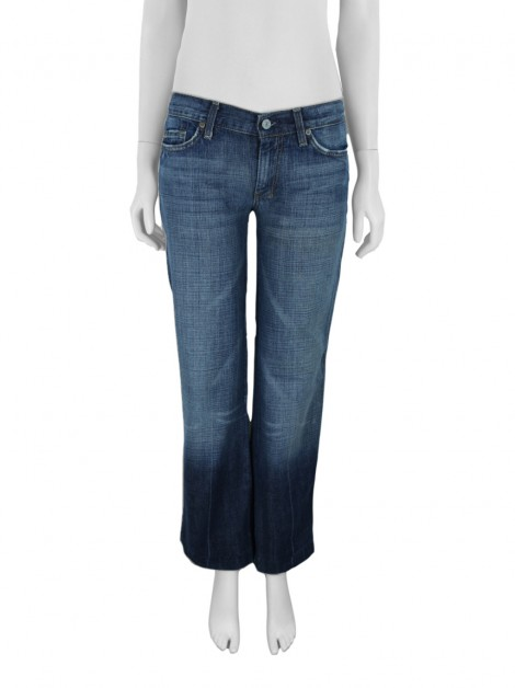 Calça Seven For All Mankind Flare Wide Jeans