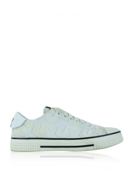 Tênis Valentino Stars Leather Low-Top Sneaker
