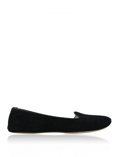 Slipper Bottega Veneta Outdoor Preta