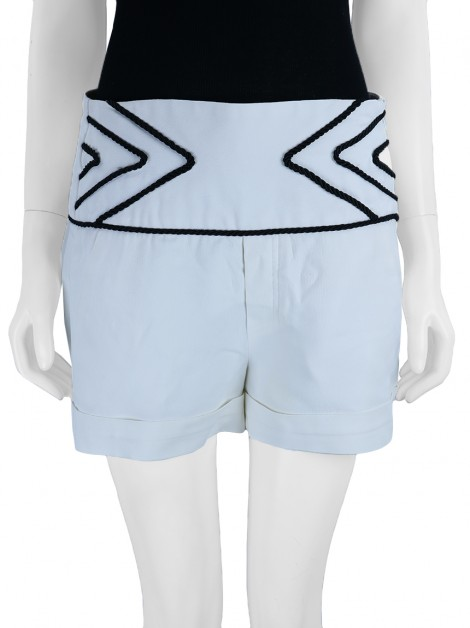 Shorts Animale Tecido Off White