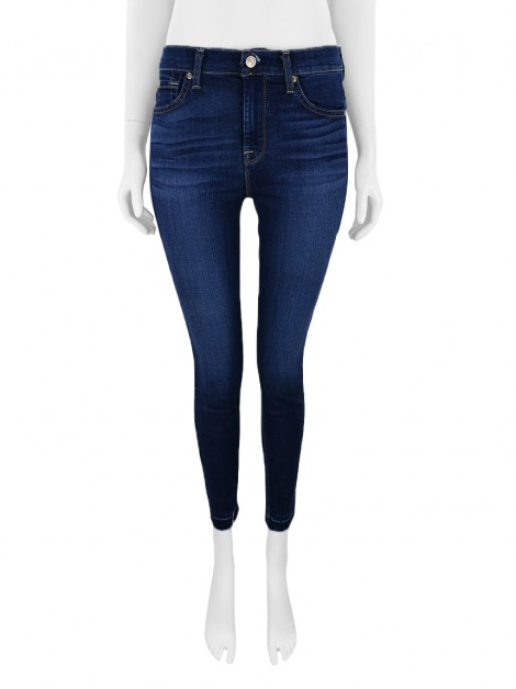 Calça Seven For All Mankind The High Waist Skinny