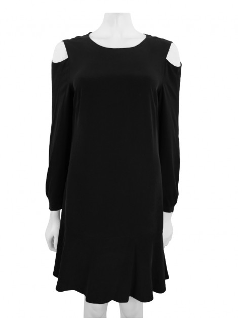 Vestido All Saints Seda Preto