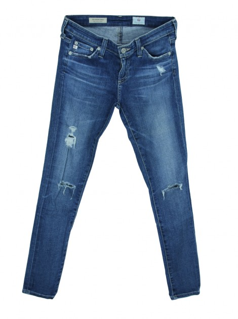 Calça Adriano Goldschmie The Legging Ankle Jeans