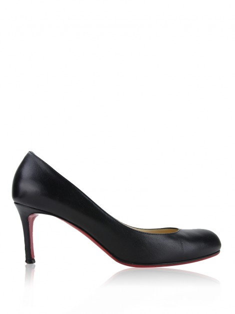 Sapato Christian Louboutin Simple 70 Preto