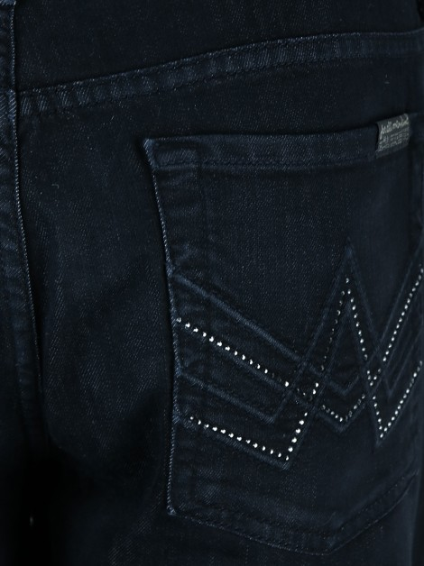 Calça Seven For All Mankind Jeans Preto