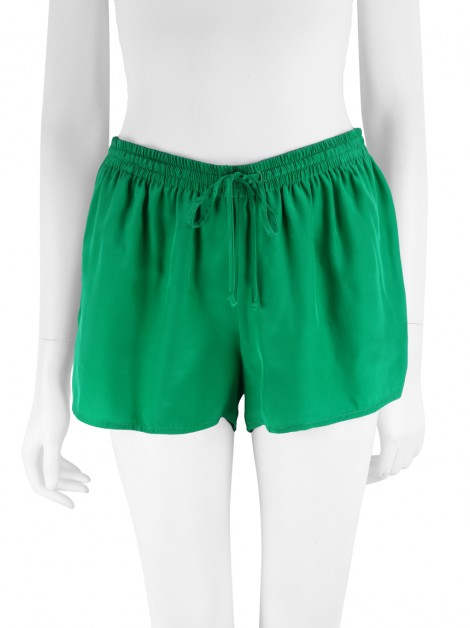 Shorts Achados do EU Georgie Seda Verde