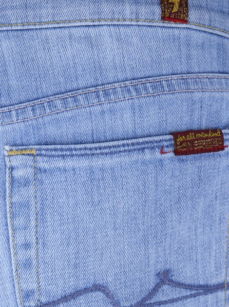 Calça Seven For All Mankind Haylie Jeans Claro