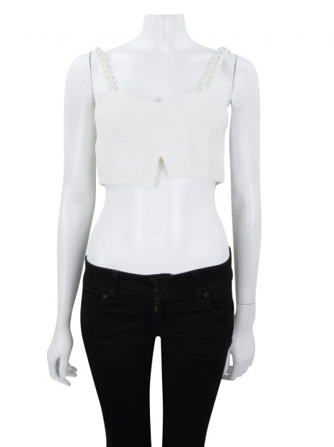 Cropped Olympiah Magnolia Off-White