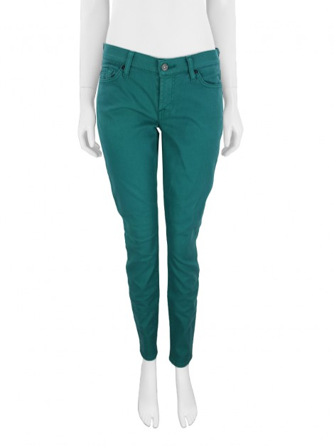 Calça Seven For All Mankind Gwenevere Verde