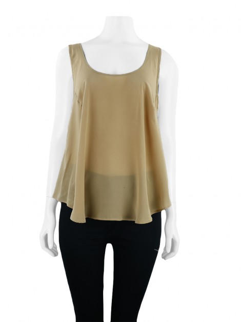 Blusa Mixed Renda Capuccino