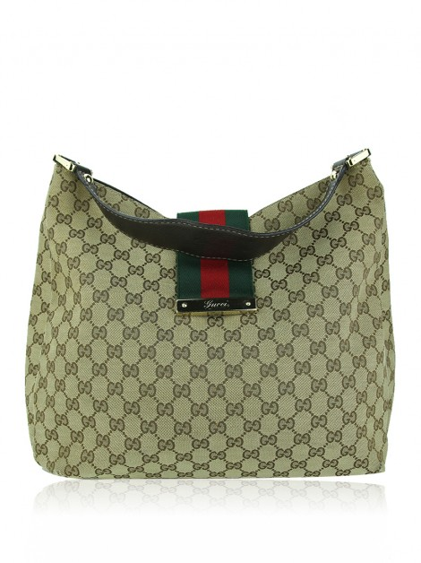 Bolsa Gucci New Ladies Web Monograma