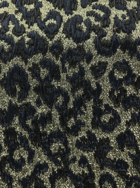 Vestido Michael Kors Lurex Animal Print