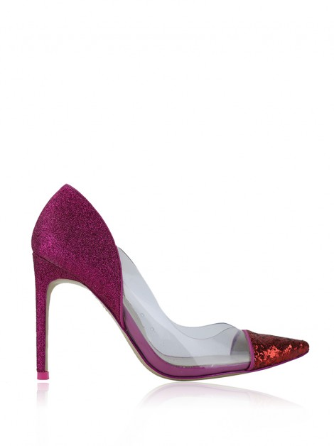 Sapato Sophia Webster Glitter Bicolor