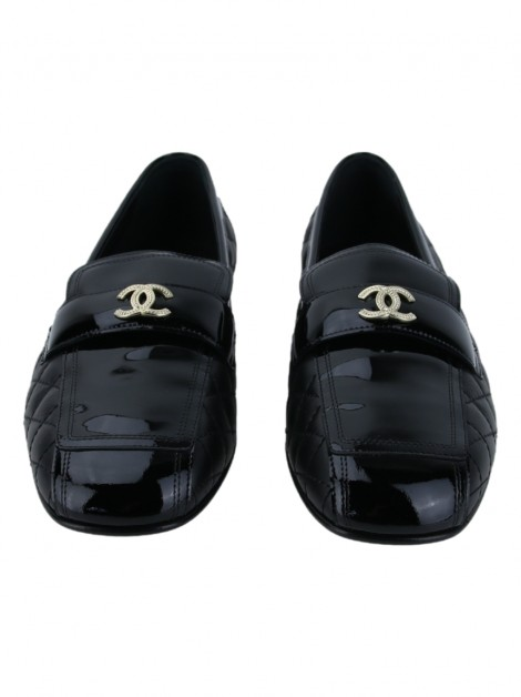 Sapato Chanel Interlocking CC Logo