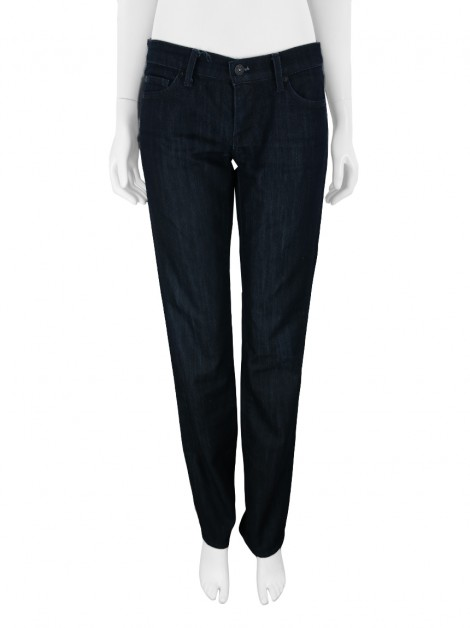 Calça Seven For All Mankind Straight Azul