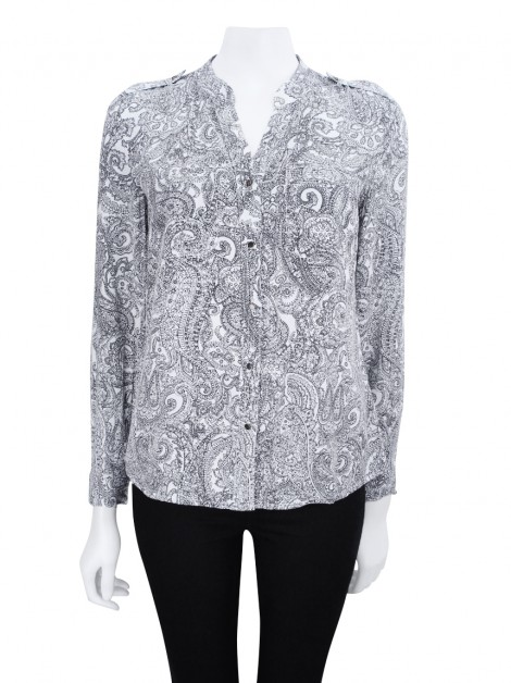 Camisa Banana Republic Paisley Bicolor