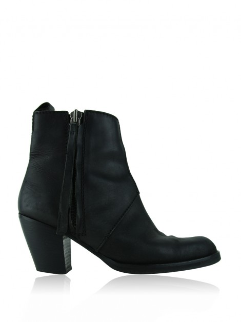 Bota Acne Studios The Pistol Preto