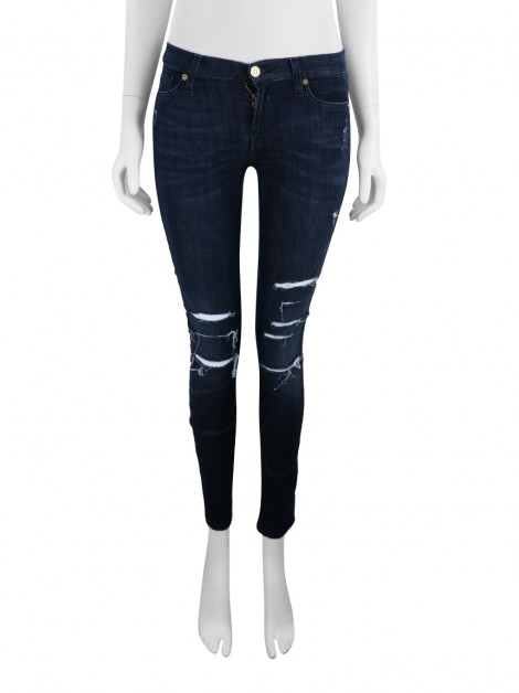Calça Seven For All Mankind The Skinny Chumbo