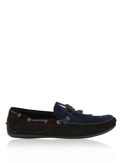 Loafer Salvatore Ferragamo Mango Boat Bicolor