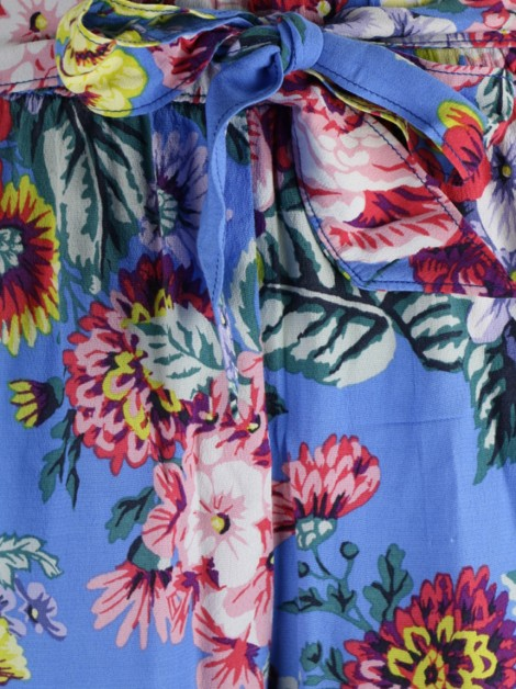 Short Maeve by Anthropologie Azul Floral