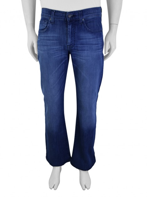 Calça Seven For All Mankind Bootcut Jeans Azul